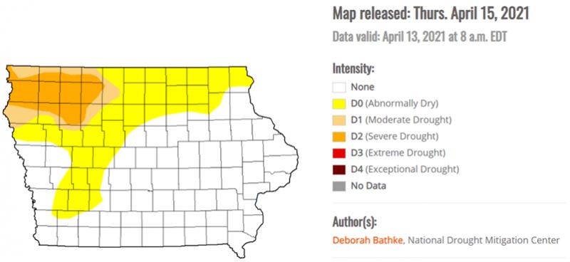 April 16 Map 2