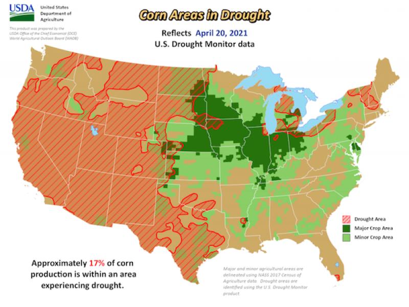 April 23 Map 1