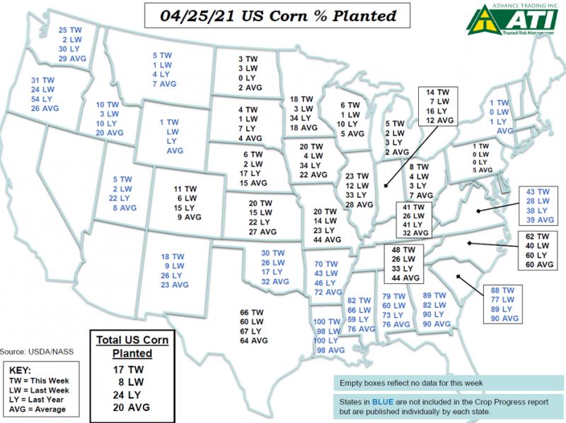April 27 Map 1