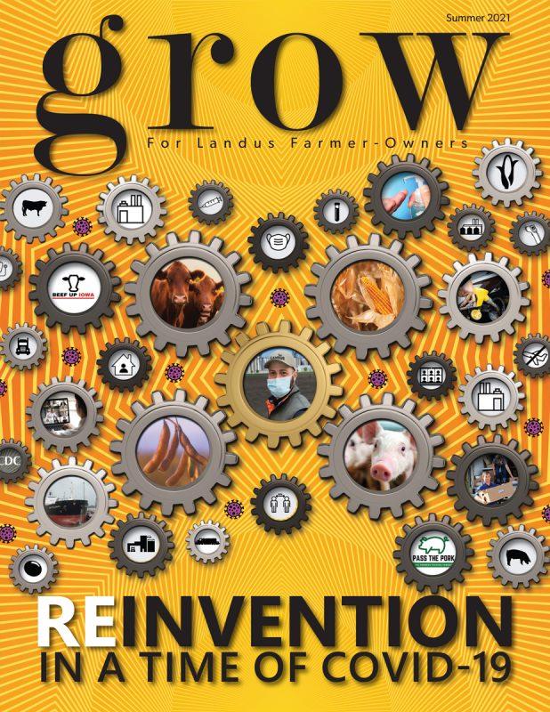 Grow Magazine Summer 2021 Cover