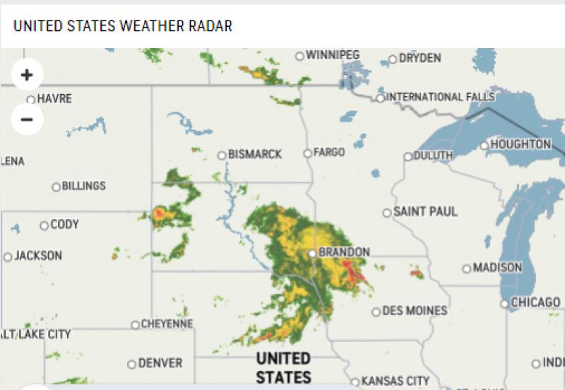 July 14 Map 1