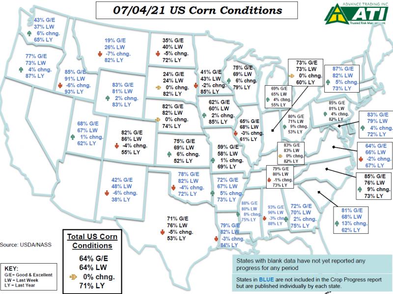 July 7 Map 1