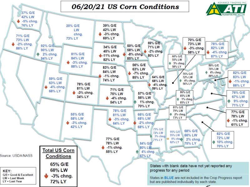 June 22 Map 1