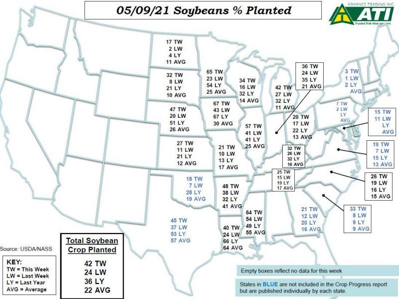 May 11 Map 1