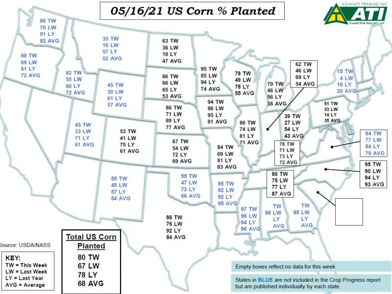May 18 Map 1