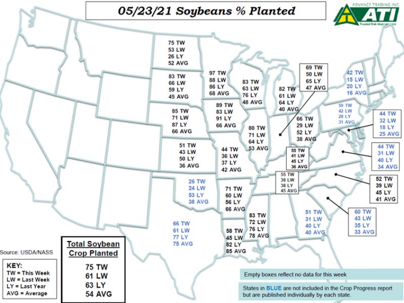 May 25 Map 1
