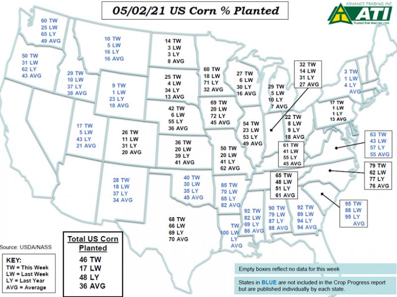 May 4 Map 1