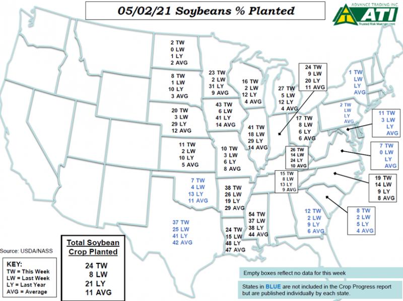 May 4 Map 2
