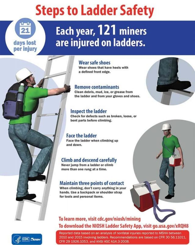 PQ0118 safety ladder
