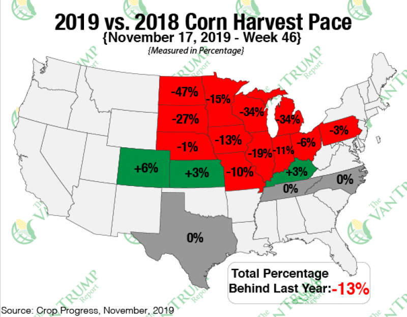 Grain comments harvest pace corn 112019