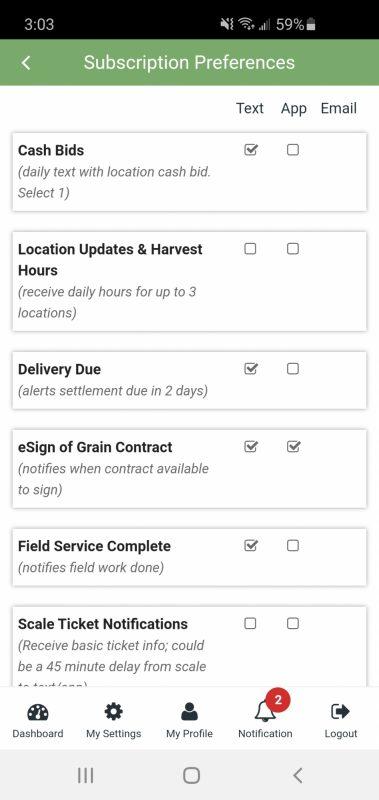 Harvest hours subscription 1