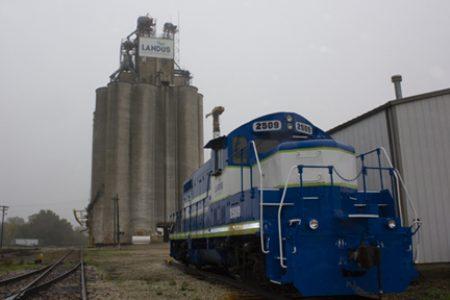 Bradford locomotive Landus Cooperative