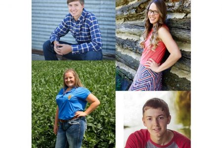 Excellence In Ag Scholarship Winners 2017 1024X952