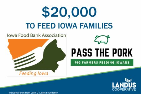 Food Bank Pass the Pork Donation