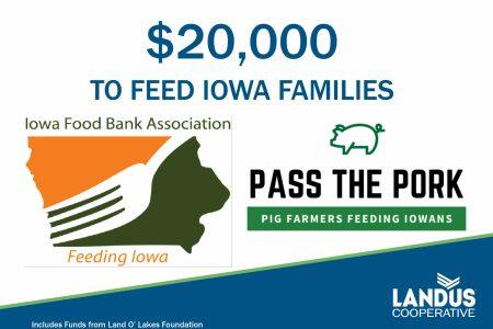 Food Bank Pass the Pork Donation