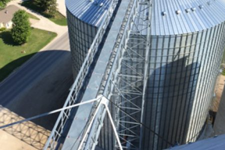 Grain Bin Landus Cooperative