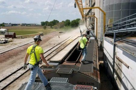 Grain Train Bound For Mexico Nafta Naig Visit 11 768X1024
