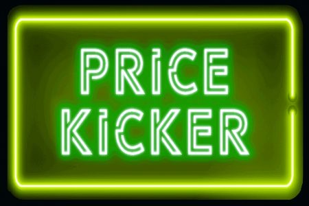 Green Price Kicker