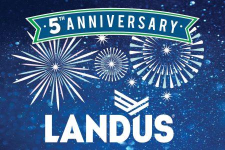 Landus 5 year Anniversary Website vf