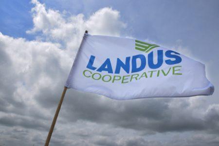 Landus Cooperative Flag Landus Cooperative