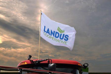 Landus Flag On Equipment 2016