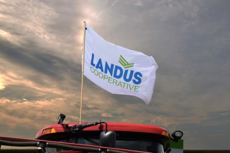 Landus Flag On Equipment 2016