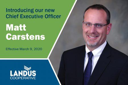 Matt Carstens CEO Announcment Website 021820 vf