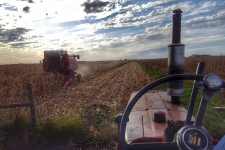 Red Machinery Harvest