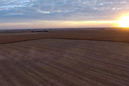 Aerial Farm Land