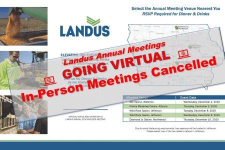 Annual meeting going virtual