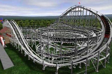 Grain roller coaster